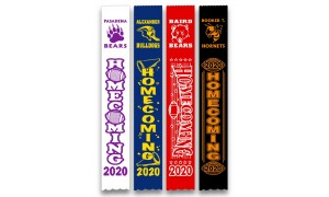"Homecoming Ribbons - 2"" x 13"""