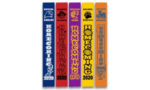 "Homecoming Ribbons - 2.5"" x 18"""