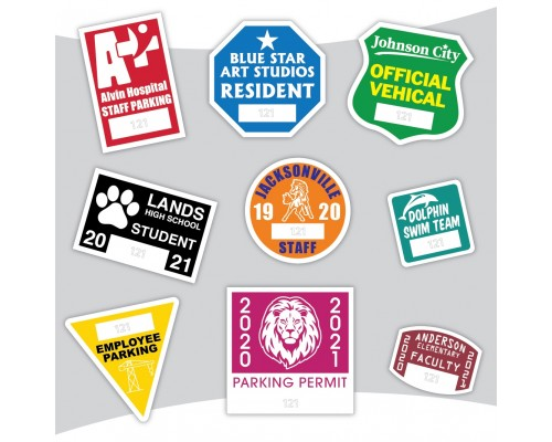 Parking Permit Stickers